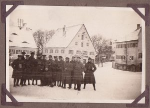 2. Fahnenjunker Kurs 1925 in Altomünster